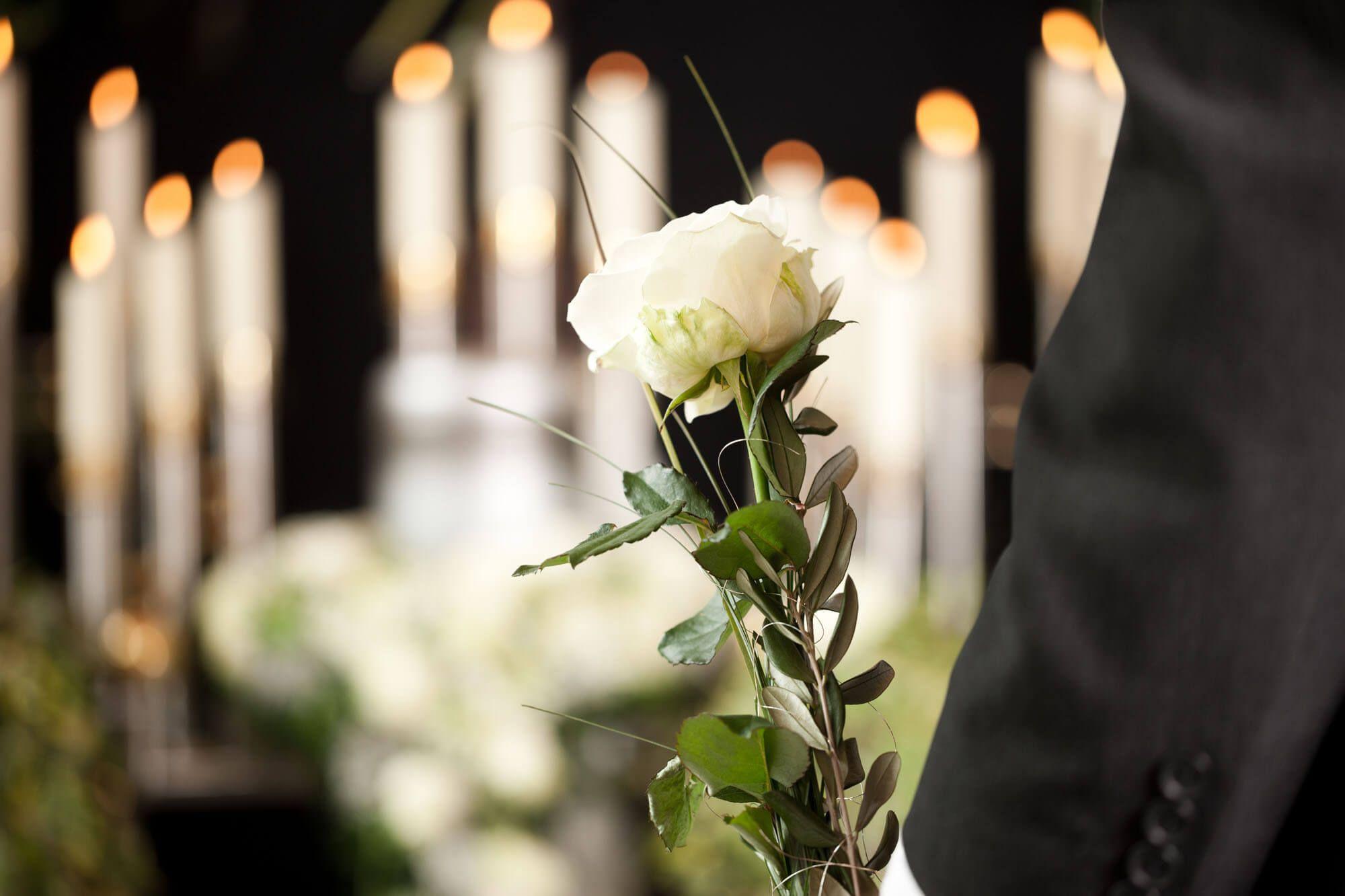 Klassische Trauerfeier